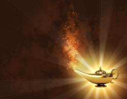 Onze wonderlamp