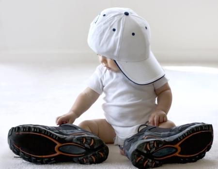 Trek uw sportschoenen aan